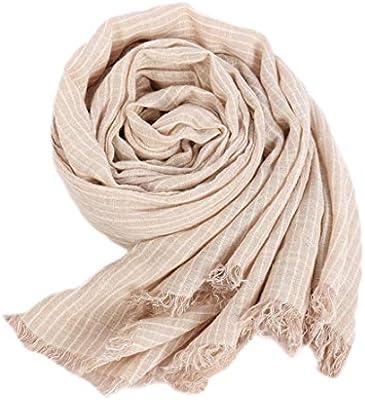 SXZHSM - Bufanda de Lino y algodón para Mujer, para otoño e Invierno: Amazon.es: Hogar