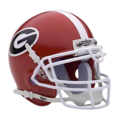 Schutt Georgia Bulldogs Mini Helmet Red