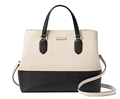 Designer Purses New York - Nwt kate spade laurel way evangelie convertible bag pumice/black