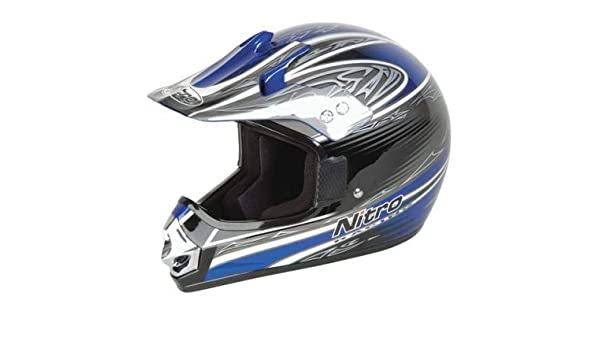 Amazon.es: NITRO - C0340333XS/395 : Casco Enduro Offroad ...