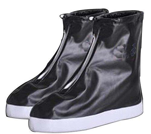 chaussures Pluie Wear Noir Chaussures étanche Noir Housse couverture antidérapante 4dqrnfqa