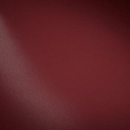 Polster PVC Kunstleder Stoff Meterware Burgund-Rot: Amazon.de ...