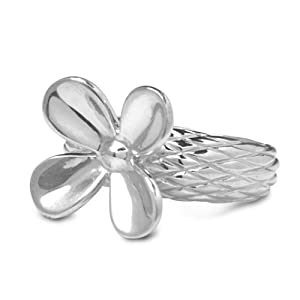Carolyn Pollack Sterling Silver Flower Ring