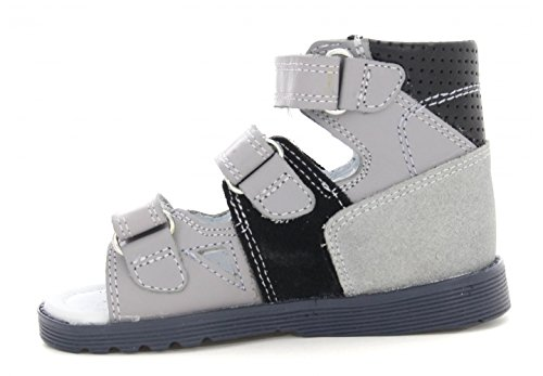 Bartek Boys Orthopedic Leather High Sandals with Arch and Ankle Support 81804//7AB Toddler//Little Kid