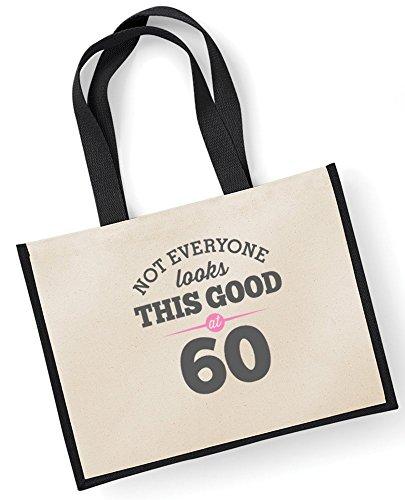 Black Good Bag Women Gifts Birthday Fuchsia Novelty Keepsake Female Ladies Birthday For Looking Gift Bag Gift 60th Funny Gift Gift Ladies Gift Idea Shopping Gifts Present Tote FqBwxff
