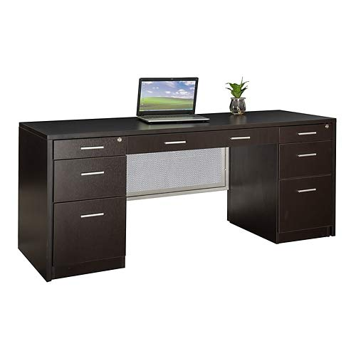 at Work Credenza 72''W Gray Laminate by NBF Signature Series