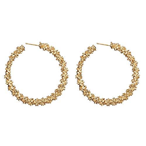 - 925 sterling silver Crystals hoop earrings for women girls - Tiny small large huggie hoop earring Wedding