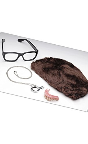 Austin Powers Costumes Accessory Kit (Austin Powers Deluxe 6 Piece Accessory Kit)