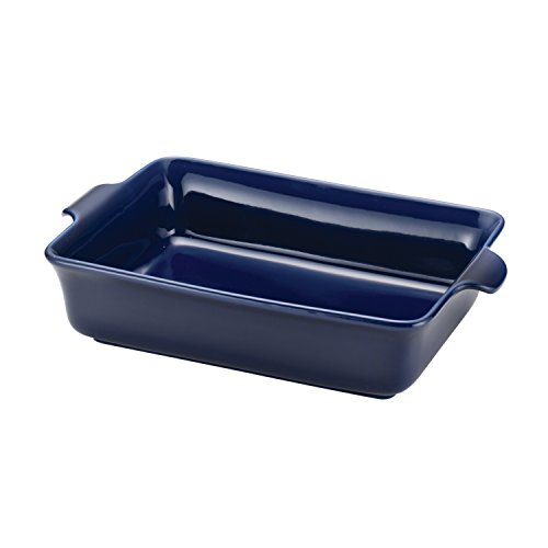 Anolon Rectangular Vesta Stoneware Baker, 9 by 13-Inch, Baltic Blue (Blue Rectangular Baker)