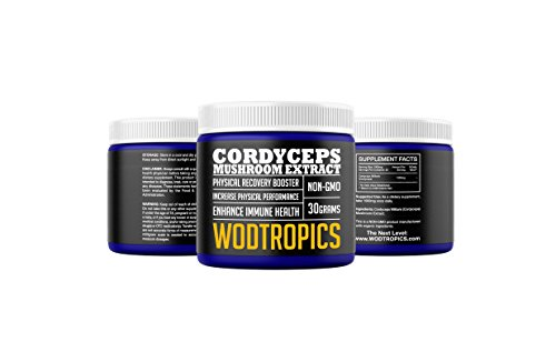 Cordyceps Powder to Increase Endurance, Enhance Recovery, and Combat Fatigue – Cordyceps Mushroom Nootropic for Mental and Physical Performance by WodTropic, 100% 418eI7XmLOL  Home Page 418eI7XmLOL