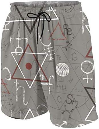 キッズ ビーチパンツ 三角型 幾何柄 サーフパンツ 海パン 水着 海水パンツ ショートパンツ サーフトランクス スポーツパンツ ジュニア 半ズボン ファッション 人気 おしゃれ 子供 青少年 ボーイズ 水陸両用