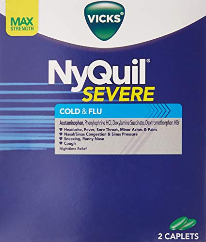 Nyquil Cold & Flu 25 packs of 2 pills in each pack