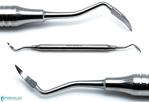 New Dental Root Tip Pick Sharp End Elevators double ended Surgical Instruments