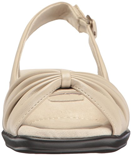 Easy Street Womens Fantasia Heeled Sandal Bone QjyOTvu