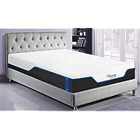DynastyMattress NEW! CoolBreeze2-FIRM Cooling Gel Memory Foam Mattress-FULL