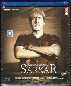 Sarkar [Blu-ray] (álbumes de fotos, bollywood, cine indio, película hindi) (lunes de ciber)