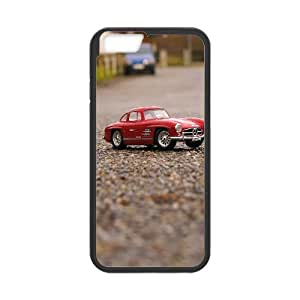 Funny Mini Car Ilike IPhone 6 Plus Case Protective Cute for Girls, Iphone 6 Plus Case for Men [Black]