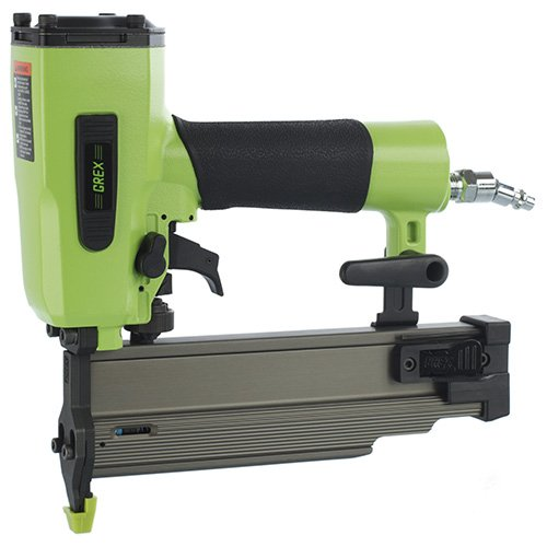 Nailer Angle Brad (Grex Power Tools 1850GB Green Buddy  18-Gauge 2-Inch Length Brad Nailer)