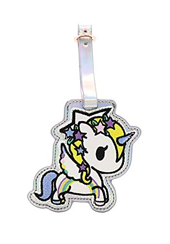 Tokidoki Camo Kawaii Star Fairy Unicorno Luggage Tag : Camo Kawaii