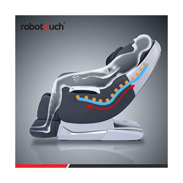 Robotouch Maxima Luxury Ultimate Full Body Zero Gravity Massage Chair (Black)