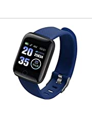 Smart Fitness Watch, Blood Pressure, Calls, Messages, Steps
