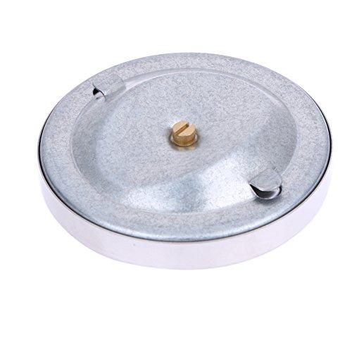 DOMYBEST 0-120 °Thermomètre à Surface Thermomètre Type Serre-ressort Tube en Acier Inoxydable Bimétallique