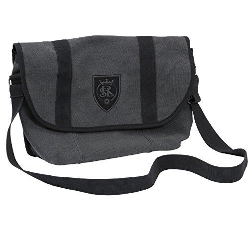 Logo Brands MLS Real Salt Lake Varsity Bag, Adult, Red by Logo Brands (Image #1)