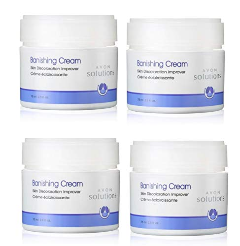 Lot of 4 Avon Solutions Banishing Cream Skin Discoloration Improver 2.5 fl oz each brand new Fresh sold by The Glam Shop