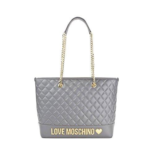 Borsa Donna Shopping Trapuntata | Love Moschino | JC4014PP15LBP18P-Grigio