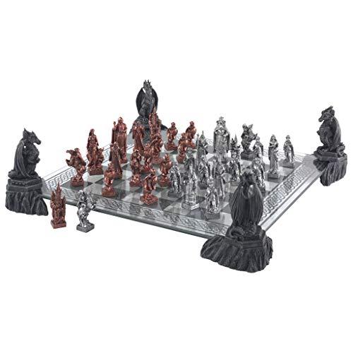 Design Toscano Mystical Legends Chess Set, 22
