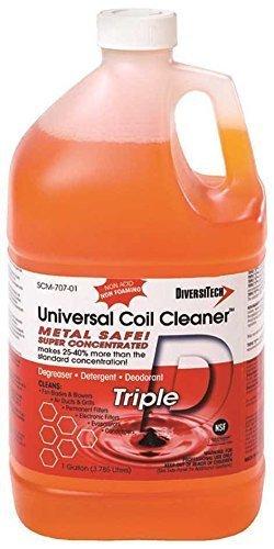 Diversitech TRIPLE-D Condenser & Evaporator Coil Cleaner, 1 Gallon, 4 Per Case by Diversitech