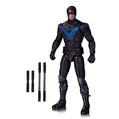 DC Collectibles Batman Arkham Knight: Nightwing Action Figure: Toys & Games