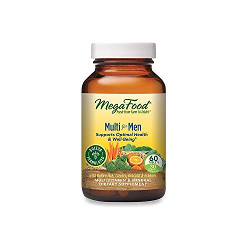 MegaFood Multi for Men – Men's Multivitamin for Optimal Health and Well-Being – With B Complex Vitamins – Gluten Free…