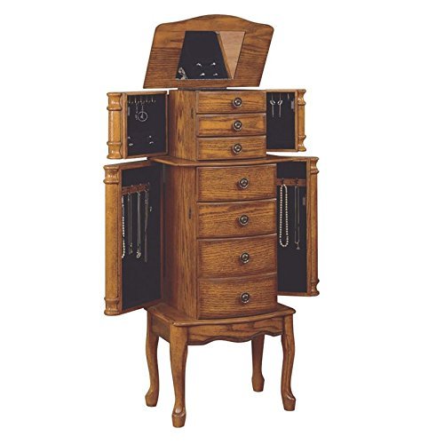 Powell ''Woodland Oak'' Jewelry Armoire by Powell Furniture (Image #2)