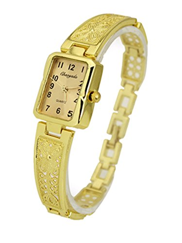 Elegant Womens Watch (Cutebox Women's Ladies Elegant Arabic Numbers Analog Display Gold Bracelet)