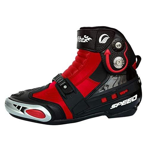 MAKAFJ Motorradstiefel Motorradschuhe Biker Racing Stylist Kurze Stiefelette Motorrad Track Touring Schuhe Wasserdicht…