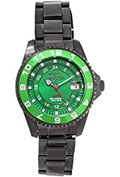 Invicta 18249 Womens Green Dial Stainless Steel Watch