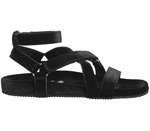 Office Superstylin' Sandals Black Velvet qBJ8U