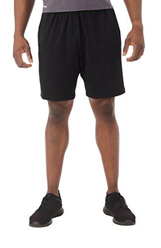 07f5d27e70 Russell Athletic Men's Dri-Power Coaches Short, Black, XXL