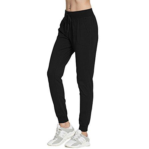 OCIESS Women's Cotton Athletic Joggers Pants Sweatpants With Pocket