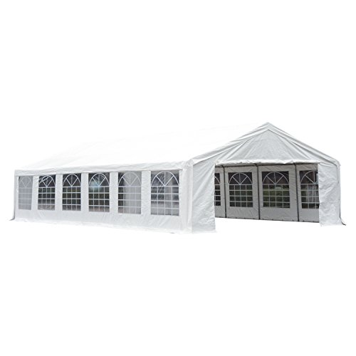 Outsunny 40' x 20' Party Tent Event Canopy with Sidewalls and Windows - -