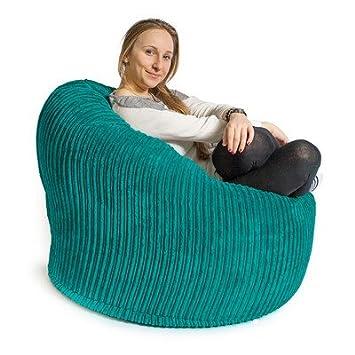 Lounge Pug Mini Mammoth Sitzsack Sessel Cord Nerzfarben Lounge