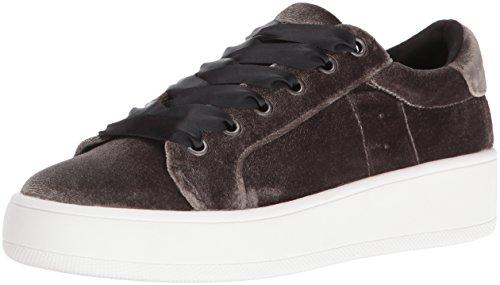 Fashion Steve Bertie Taupe Sneaker Velvet Womens Steve Madden Madden wwqxPgzX