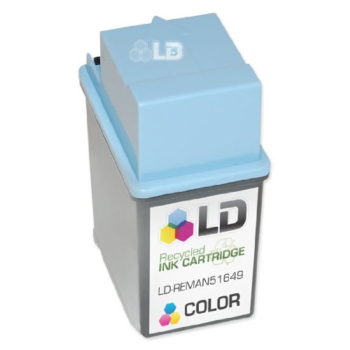 LD © Remanufactured Replacement Ink Cartridge for Hewlett Packard 51649A (HP 49) Tri-Color ()