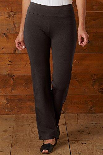 Fair Indigo Fair Trade Organic Straight Leg Knit Pants