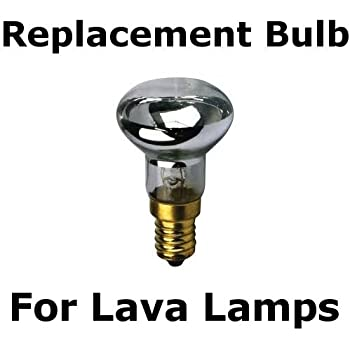 R39 E17 Lava Lamp Replacement Bulb 25 Watt Reflector Type