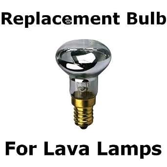 R39 E17 Replacement Light Bulb Motion Lamp Watt Reflector