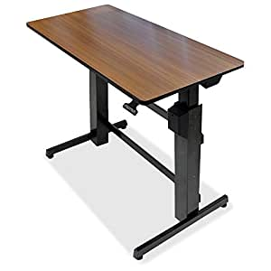 Amazon Com Ergotron Workfit D Sit Stand Desk Steel