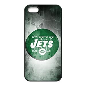 Custom New York Jets NFL Back Cover Case for iphone 5,5S