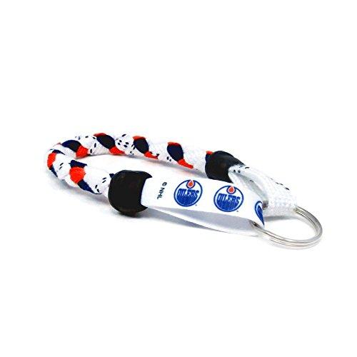 Nhl Key Ring Edmonton Oilers (Swannys Edmonton Oilers Hockey Skate Lace Keychain)